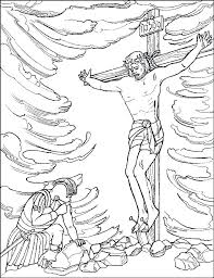 Free Religious Easter Coloring Pages To Print Religious Coloring