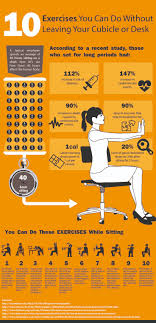 stuck at the desk today try these easy exercises you can do while sitting to keep active and
