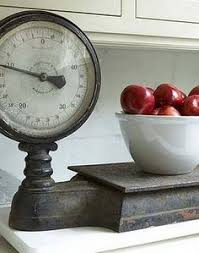 Small Picture Vintage Grocery Hanging Scale Clock Hanging scale Scale and