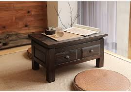 two in one furniture. Japanese Antique Furniture Tea Table Wooden Storage Cabinet Two Drawer Paulownia Wood Asian Traditional Living Room Furniture-in Coffee Tables From In One L