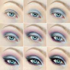 beautiful makeup tutorial for blue eyes