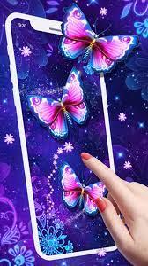 Purple Butterfly Live Wallpaper for ...