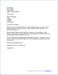Best Photos Of Professional Self Introduction Letter Sample