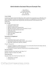 administrative assistant resume example two medical administrative assistant resume example two medical transcriptionist administrative assistant job resume examples