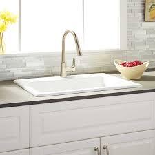 DropIn Kitchen Sinks  Signature Hardware30 Inch Drop In Kitchen Sink