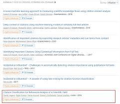 Citation Intent Classification Semantic Scholar