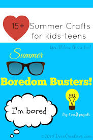15 summer crafts and diy projects for kids and teens dearcreatives com