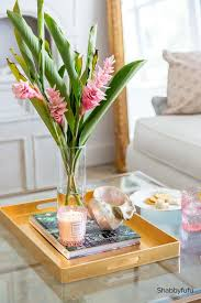 To earn enough money to provide the basic necessities for oneself and (often) one's family. How To Style Decorate A Coffee Table With A Tray Shabbyfufu Com