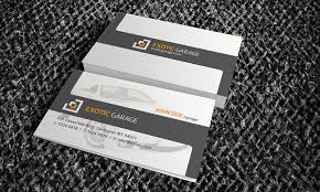Automotive Business Card Templates Auto Car Business Card Template