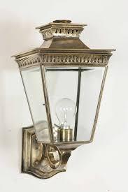 Pagoda Solid Brass Outdoor Wall Lantern From Richard Hathaway Lighting - Exterior lights uk
