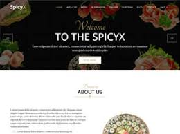 Food Recipe Template Free Food Or Drink Website Templates 81 Free Css