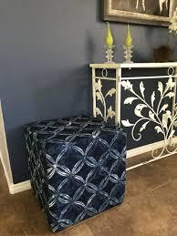 diy upholstered cube