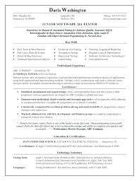 Tester Resume Samples Entry Level Qa Tester Resume Sample Job Description Lovely Beautiful