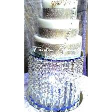 crystal cupcake stand crystal chandelier cupcake stand stunning lilac damask wedding cake with shades whitney white crystal cupcake stand