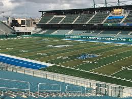 Yulman Stadium Section 124 Rateyourseats Com