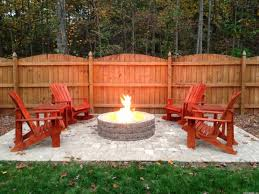 concrete patio with square fire pit. Beautiful Fire Concrete Patio With Square Fire Pit Magnificent On Floor Intended Gorgeous  Paver Patios Pits From Rustic F
