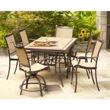 high outdoor furniture. hampton bay westbury 7piece patio high dining sets7adq27113 at the outdoor furniture s
