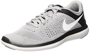 nike shoes white and black. nike new men\u0027s flex 2016 rn running shoe grey/white/black 7.5 shoes white and black e