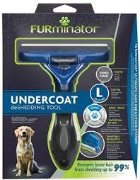 <b>Furminator Фурминатор</b> L для крупных собак с длинной шерстью ...