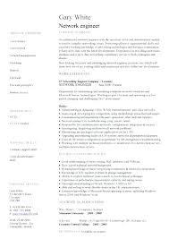 Resume Format Network Engineer Resume Template Directory