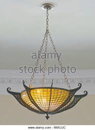 tiffany pendant lights nz. tiffany nautilus ceiling lamp shade bronze frame - stock image pendant lights nz
