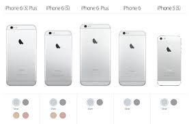Old Iphones Compared To 2015 Iphone 6s 6s Plus