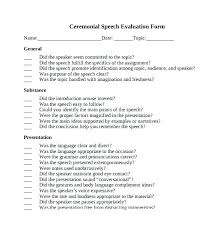 Speech Introduction Outline Ceremonial Speech Outline Template Edunova Co