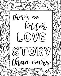 Free Printable Love Quotes Coloring Sheets Sarah Titus