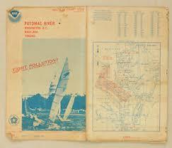 Potomac River Depth Chart Details About Potomac River Virginia Maryland Vintage Map Us National Survey Nautical Chart