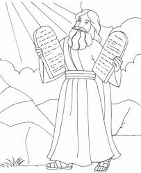 Small Picture Free Printable Moses Coloring Pages For Kids