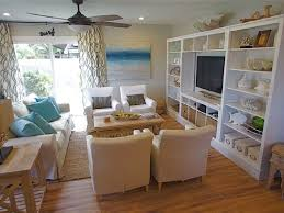 Living Room Beach Decor Interior Design Fascinating Beach Theme Living Room With Wooden