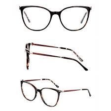 New Spectacles Design Optical Glasses Frame Women Prescription Myopia Presbyopia Spectacles 2020 New Fashion Lady Luxury Design Acetate Eyeglasses