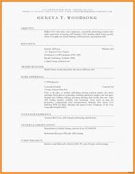 Amusing How To Update Resume Blank Template For Resume Fresh New ...