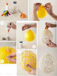 How To Make String Ball Decorations Delectable DIY Hanging String Balls Hand Made Pinterest Ball Decorations