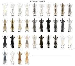 Space Wolves Colour Chart Wolf Pelt Colors By Pookyhorse Deviantart Com On Deviantart