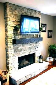 resurfacing a brick fireplace refacing brick fireplace with stone veneer fireplace refacing stone refacing fireplace with