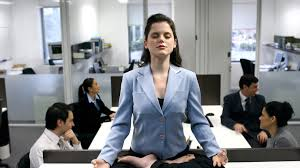 meditation in office. Office Meditation. Getty Meditation Z In T