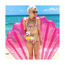<b>Матрас надувной Seashell</b> Pink от <b>BigMouth</b> (арт. BMPF-SS ...