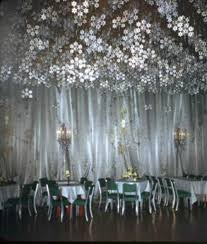Winter Ball Decorations A WINTER BALL IN LOS ANGELES DECORATED WITH CRYSTAL SNOWFLAKES AND 3