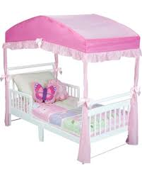 Delta Children Delta Children Girls' Toddler Bed Canopy - Pink from Target | parenting.com Shop
