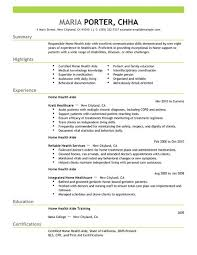 ... Unusual Ideas Design Home Health Care Resume 2 Best Home Health Aide  Resume Example ...