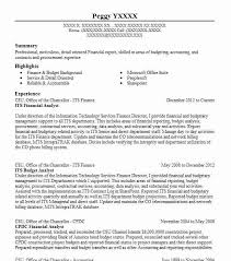 resume for analyst
