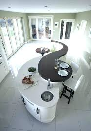 modern curved kitchen island. Awesome Home Design: Endearing Curved Kitchen Island Wood Countertops Butcher Block Countertop Bar Top Images Modern A