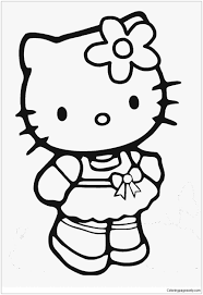 Us $388.0 |huge comfortable hello kitty cute cat soft cartoon bed sleeping bag pad filling stuffed plush tatami coloring pages for kids. Hello Kitty Cute 18 Coloring Pages Cartoons Coloring Pages Free Printable Coloring Pages Online