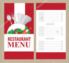 Restaurant Menu Format Free Menu Card Templates 58 Free Word Psd Pdf Eps Indesign Format