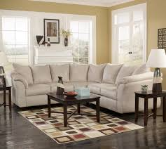 Signature Design by Ashley Darcy Stone Contemporary Sectional