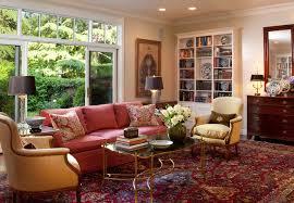 modern oriental rug living room 27