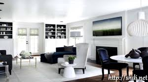 black and white living room decor ideas youtube
