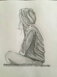 sketches of s in depression alone pic drawing pencil sketch 17 depressed drawings