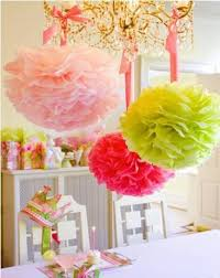 Party Decorations Tissue Paper Balls